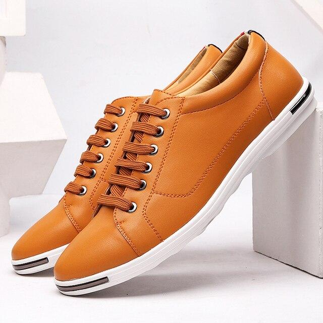 Scarpe da tennis degli uomini più il formato 45-48 superficiale scarpe di  marca per gli uomini scarpe basse con scarpe casual scarpe da ginnastica di  marca ... 236cdcd6491