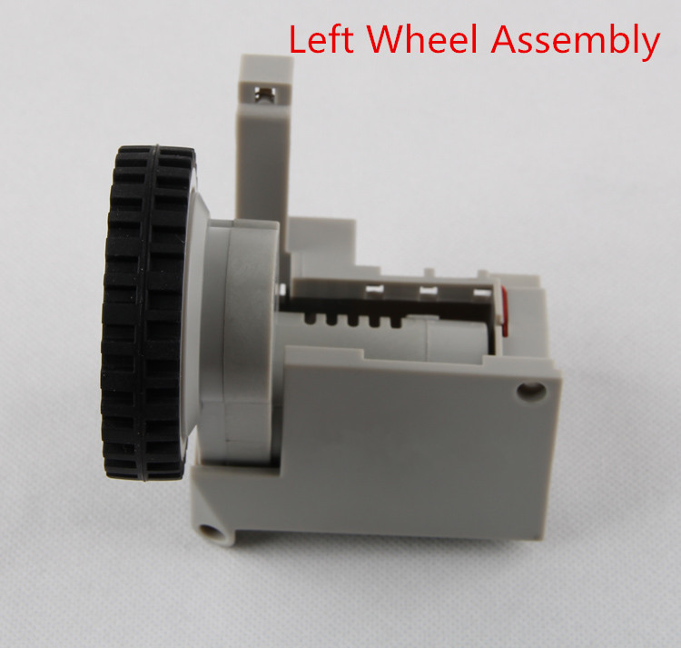 Robot vacuum cleaner For A320 A325 Left Wheel Assembly for cleaner a320 a325 a330 a335 a336 a337 a338 360 degrees front wheel assembly for robot vacuum cleaner 1pcs pack