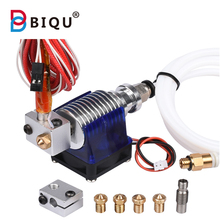 3D Printer J-head Hotend Bowden Extruder Kit with Single Cooling Fan for 1.75mm/3mm v6 long distance Nozzle kit