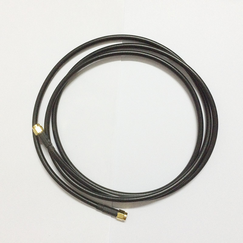 ALLISHOP 5M Antenna RP-SMA Male to SMA Male Extension Cable for Wi-Fi Wi Fi Router RG58