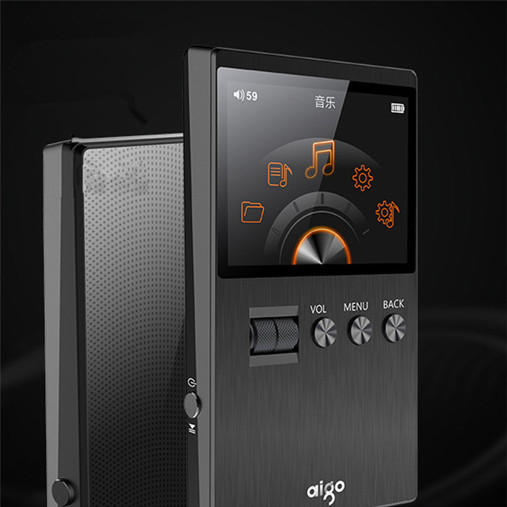 2017 Newest Aigo M6 DSD64 32G Portable Audio Hifi Lossless Music Player High Quality Mini Sport MP3 Player Can Play 60hour Black (5)