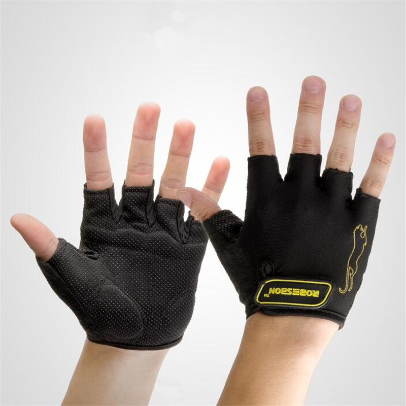 Cycling <font><b>Gloves</b></font> Men <font><b>Mountain</b></font> <font><b>Bike</b></font> <font><b>Gloves</b></font> <font><b>Gel</b></font> Pad Shock-Absorbing Anti- Slip Racing Breathable MTB Road Bicycle <font><b>Gloves</b></font> image