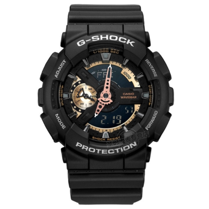 Casio g-shock watch Genuine watches male G-shock sports watches Waterproof shockproof Watch men GA-110RG-1A multi-functional casio g shock g classic ga 100mm 3a