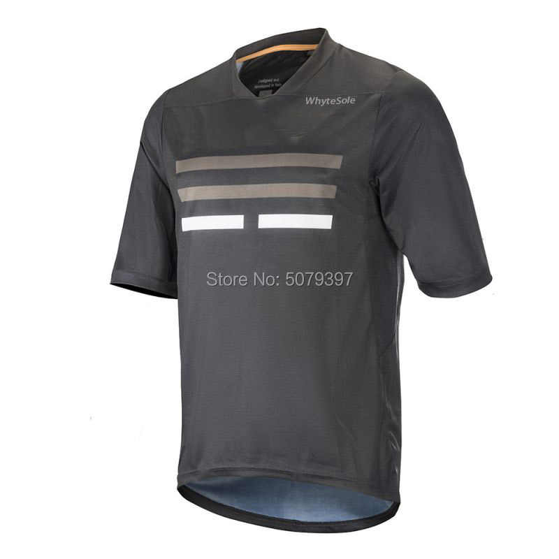 2019 Moto Kemeja MTB Moto Cross Jersey Maillot Ciclismo Hombre DH Pendek Jersey Mountain Clycling Jersey