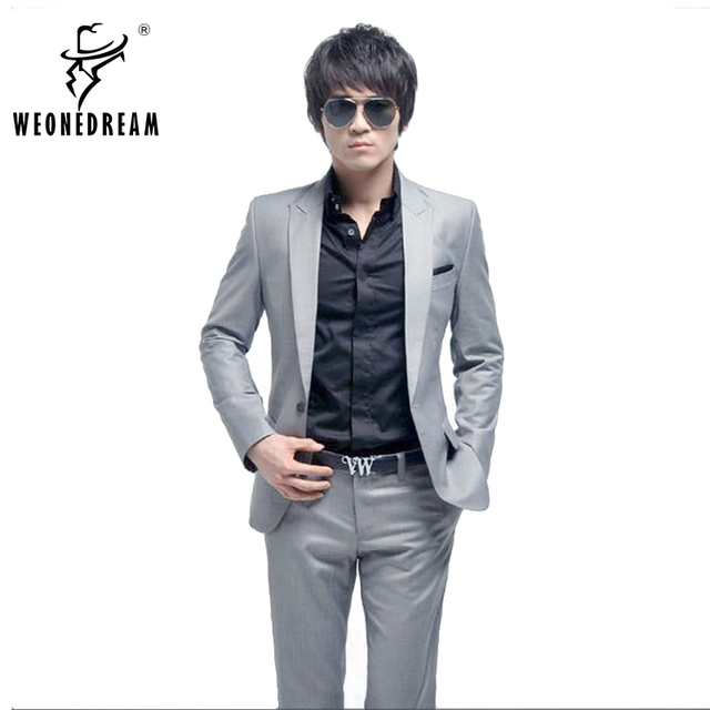 Weonedream Men Suit 2018 Quality Fashion Men Suits Prom Dresses Men