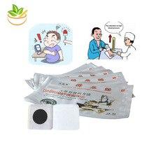 Parche de arterial medicinal para 20 piezas, yeso de medicina china para reducir el control de la presión arterial, tratamiento para el dolor de cabeza, vaso sanguíneo limpio