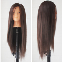 New 26 Long Hair Training Mannequin Head For Hairdressers Head Dolls Hairstyles Head Professional Styling Head
