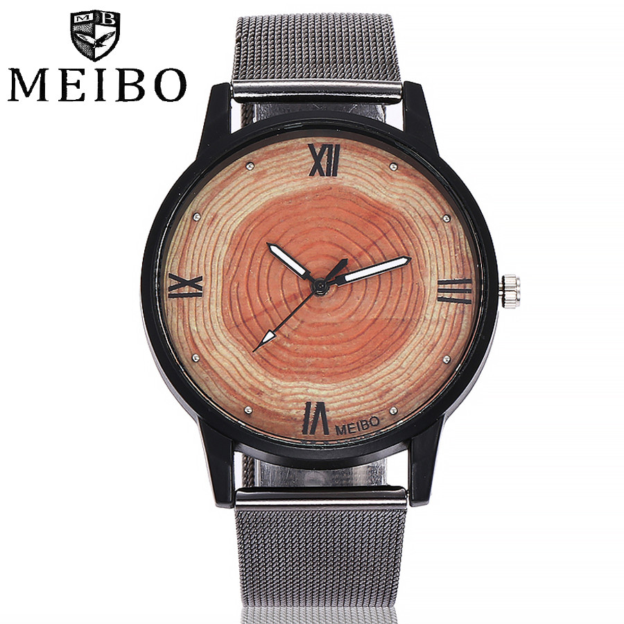 Hot MEIBO Women Men Wood Watches Casual Vintage Leather Quartz Clock Women Fashion Wooden Dress Watch Clock Dropshipping 533Hot MEIBO Women Men Wood Watches Casual Vintage Leather Quartz Clock Women Fashion Wooden Dress Watch Clock Dropshipping 533