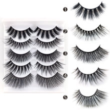 False eyelashes wholesale false five pairs of mixed mix series manual simulation