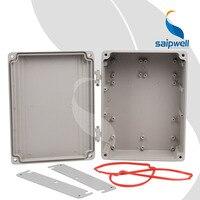 250*185*88mm 페인트 스프레이 알루미늄 인클로저/힌지 유형 프로젝트 상자 인클로저 전자 (SP-AG-FA15)