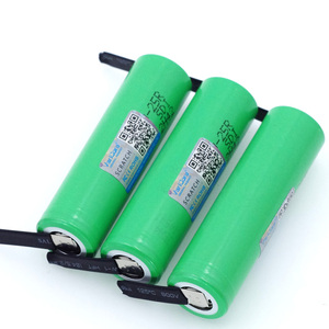 Image 3 - VariCore 100% New Brand 18650 2500mAh Rechargeable battery 3.6V INR18650 25R 20A discharge + DIY Nickel