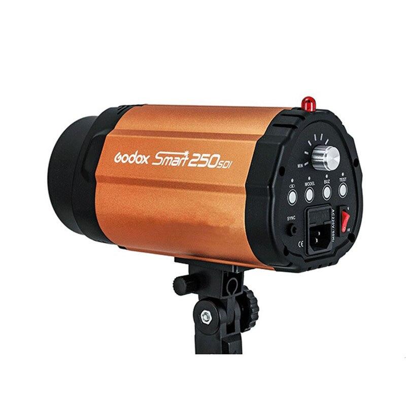 Godox 250SDI 250Ws Intelligent Strobe Photo Flash Studio Lumière 250 w Pro Studio de Photographie Lampe Tête pour Photo Studio Accessoires