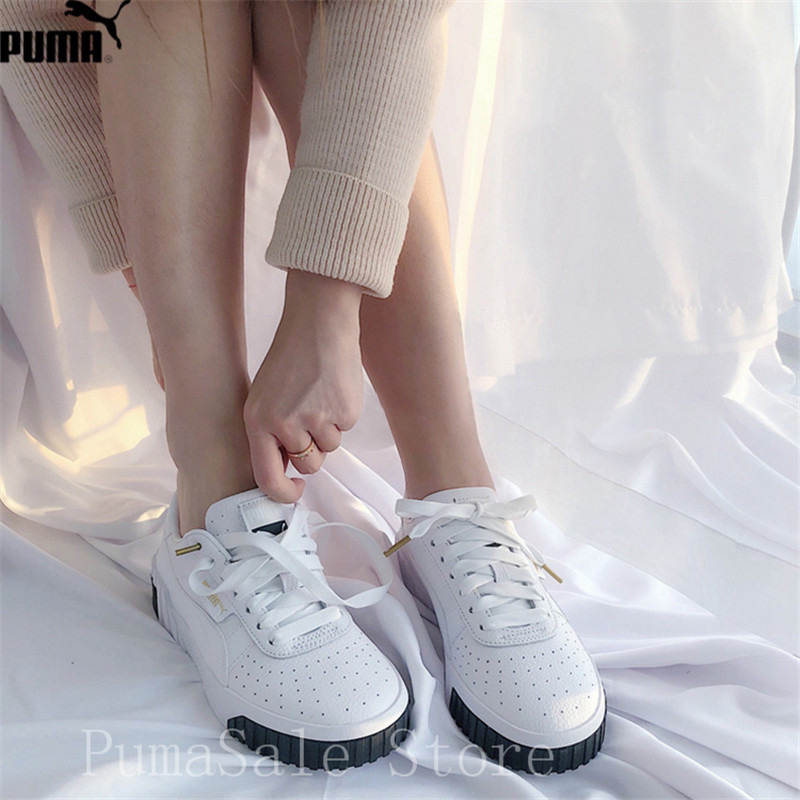 PUMA Women s Cali Sneaker 369155 02 Rihanna Basket Platform Euphoria Metal  Women Badminton Shoes Pink Upper Women Shoes 35 39-in Badminton Shoes from  Sports ... 854114bc97c6