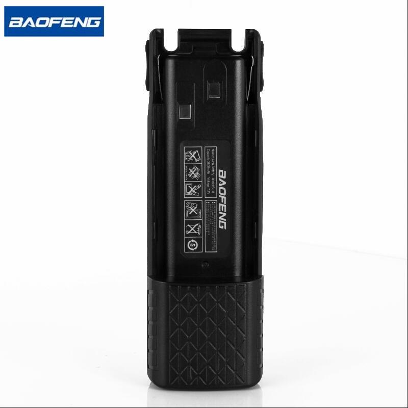 Baofeng UV82 рацыі Extended Li-іённая акумулятарная батарэя 2500mAh 7.4V для Baofeng UV82, UV82, УФ-8D, УФ-82HX Партатыўны Двухбаковы радыё