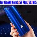Case para xiaomi note2 5S plus iy mi5 original metal de alumínio de luxo quadro + espelho pc tampa traseira para xiaomi 5s além de nota 2 M507