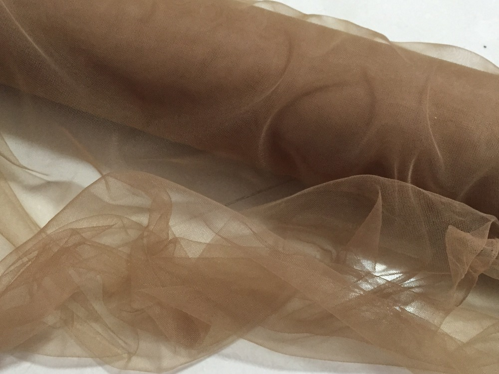 Aliexpress.com : Buy 165cm Wide 6meters/lot Dark Brown Light Nude Dark Nude  Color Thin Soft Fine Mesh Tulle Net Tiny Holes Gauze Tissue Good Quality  From ...