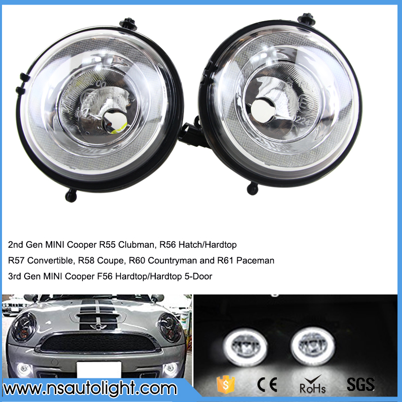 LED DRL Daytime Runing For R55 Clubman  R56 Hatch/Hardtop, R57 Convertible, R58 Coupe, R60 Countryman and R61 Paceman F56 scott hatch a gmat for dummies
