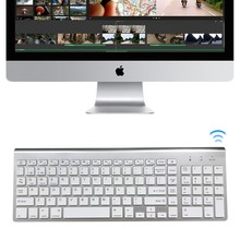 MAORONG TRADING New Business Bluetooth Wireless Keyboard for iMac 21.5inch 27inch Keyboard for Macbook PRO(China)