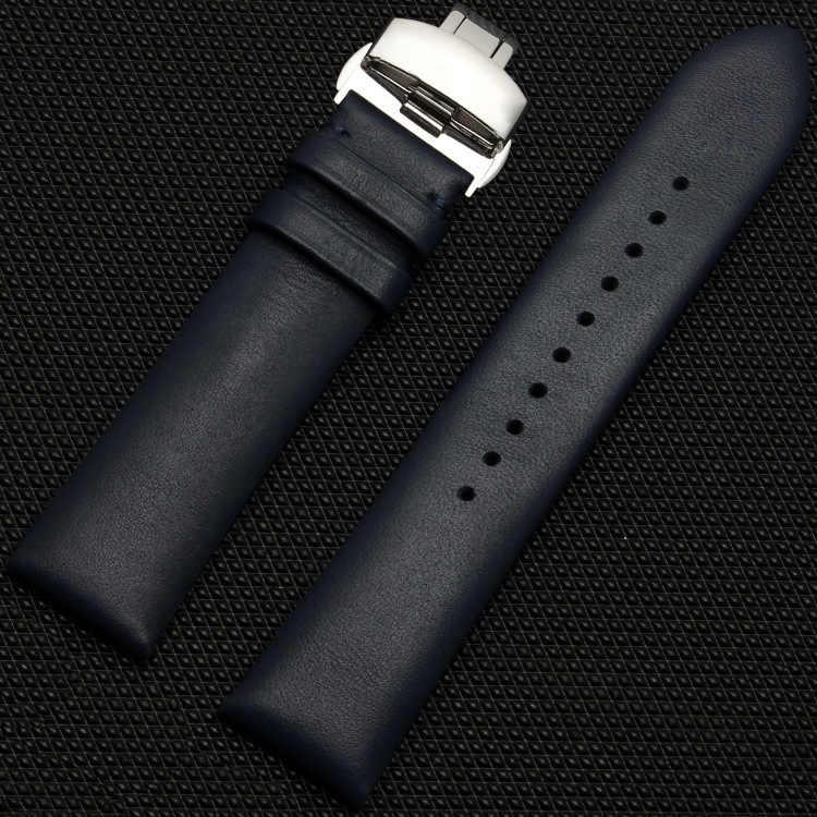 16/18/20/22mm Handmade Cowhided Kulit Watch band Strap + Lipat Genggam Fit/Untuk Giorgio Ar Menonton ganti + Alat