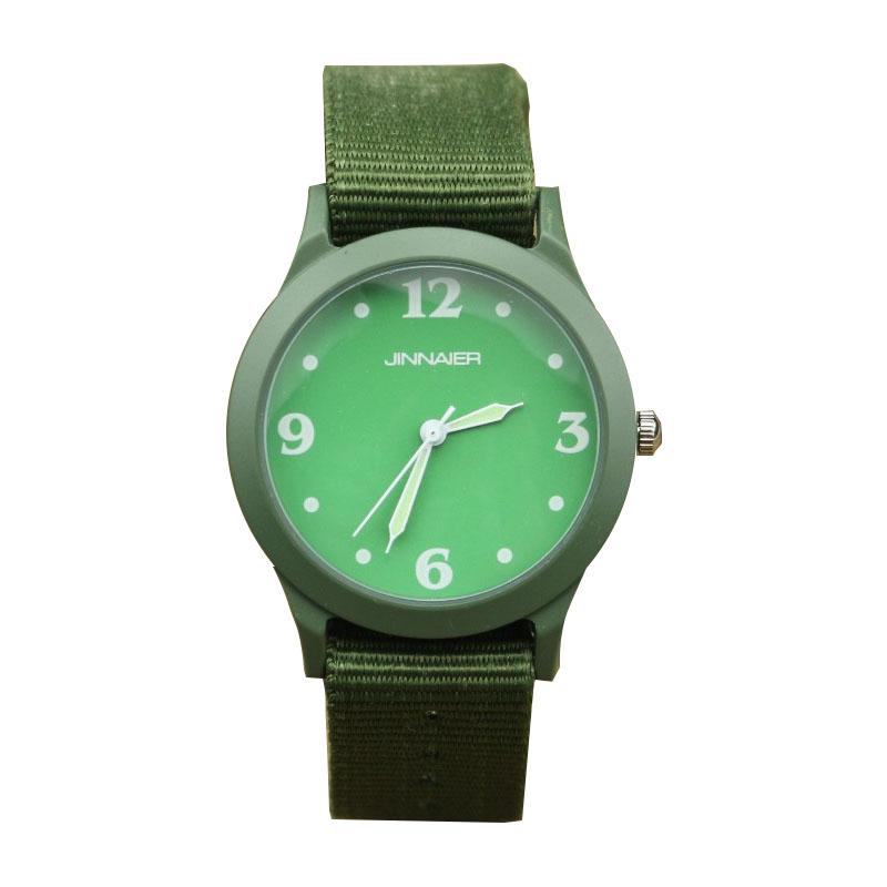 Free Shopping Little And Middle Student Simple Design Quartz Watch Best Gift For Boys And Girls Outdoor Sports Army Nylon Clock