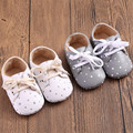 Hot sales fashion style casual printing small star baby Girl Pu Leather Princess Shoes Newborn  Baby Shoes
