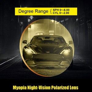 Image 4 - Night vision drive custom made eyeglasses for driving lenses optical lens with prescription single vision lenses