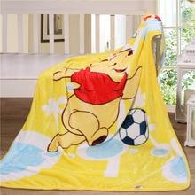 Colorful Baby Nursing Blanket Flannel Throw Blanket Coral Fleece Portable Blankie Swaddling Wrap for Strolling 100x140cm