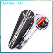 2016 2PCS/Pair Carbon Fiber Badminton Racket Racquet with Carry Bag Raquete 2U Durable Sport Equipment