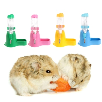 120ml 33 in 1 Hamster Rest Dispenser Base Hut Food Water Bottle Holder Small Pet Nest