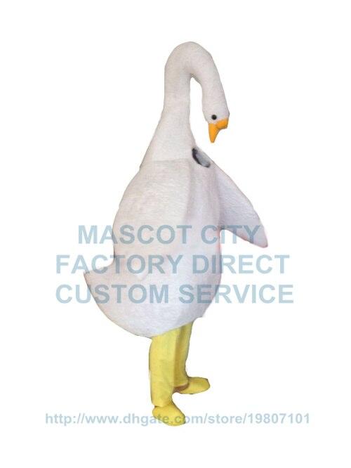✓Realista ganso Cisne Mascotas traje adulto al por mayor ganso de ...