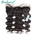 """Free Part Brazilian Virgin Hair Lace Frontal closures wigs Body Wave 13""""*4"""" With Baby Hair Swiss Lace Free Shipping"""