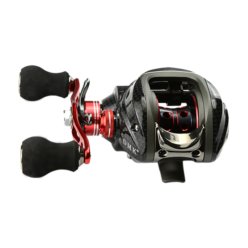 12BB 6.3:1 Left Hand Bait Casting Fishing Reel Saltwater Practical Spinning Reel  US#V триммер электрический bosch аrt 23 18 li w eeu [06008a5c06]