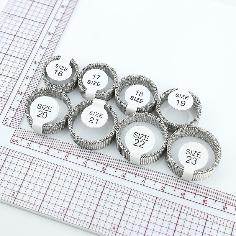 Penghantaran Percuma 8mm lebar keluli tahan karat cincin titanium - Perhiasan fesyen - Foto 5