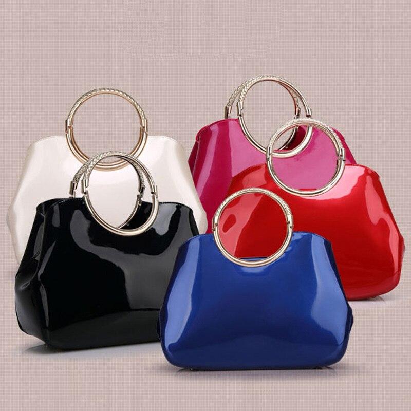 2017 Heißer Pu Leder Tasche Frauen Handtasche England Stil Schulter Tasche Hard Shell Tasche Bolsas Femininas W0098 Klar Und Unverwechselbar