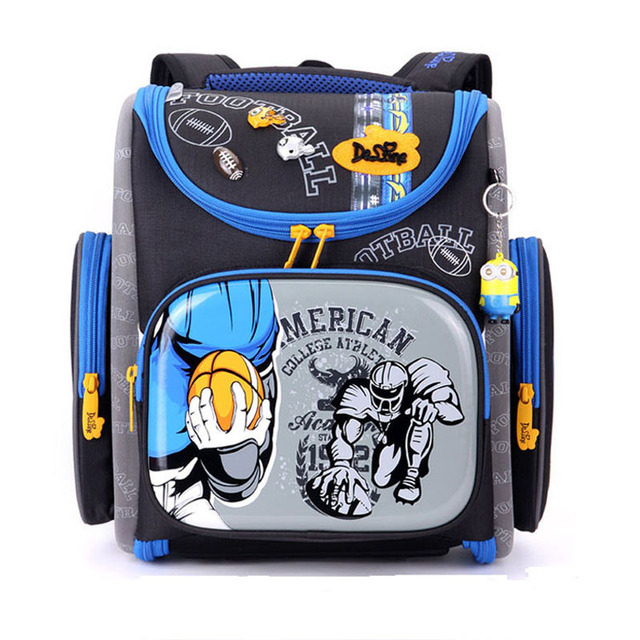 2bf830f7da82 High Quality Car Boys School Bags Children Backpack Waterproof Primary 1-4  Grade Bookbag Orthopedic
