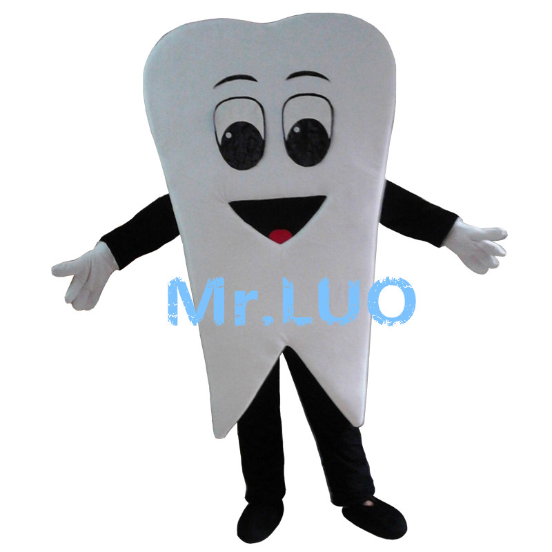 High quality Teeth tooth mascot costume size adult costume parties free shipping