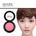 new imagic Face Powder Foundation 8 Color Soft Pressed Natural Face Blush Powder Makeup Blusher Palette Bronzers & Highlighters