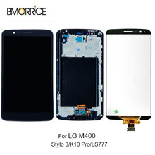 Original Display For LG Stylus 3 LCD For LG Stylo 3 K10 Pro M400 LS777 LCD Display Touch Screen Digitizer with/no Frame Black цены онлайн