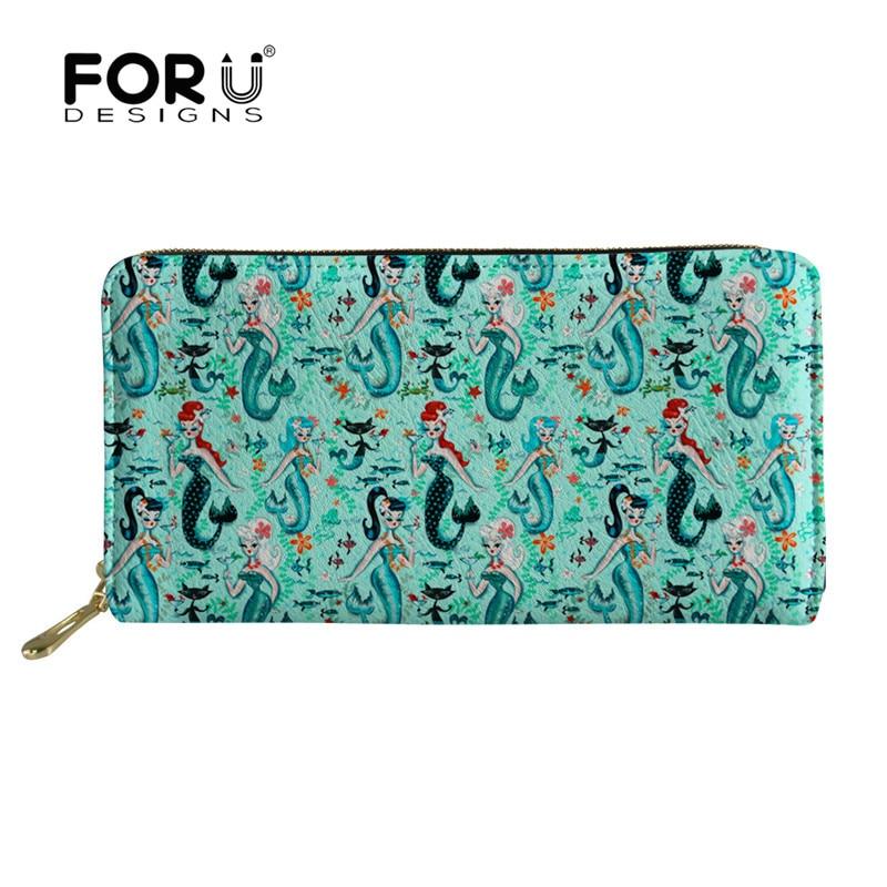 Beauty And The Beast Princess Leather Wallet Clutch Purse Thin Bifold Handbag