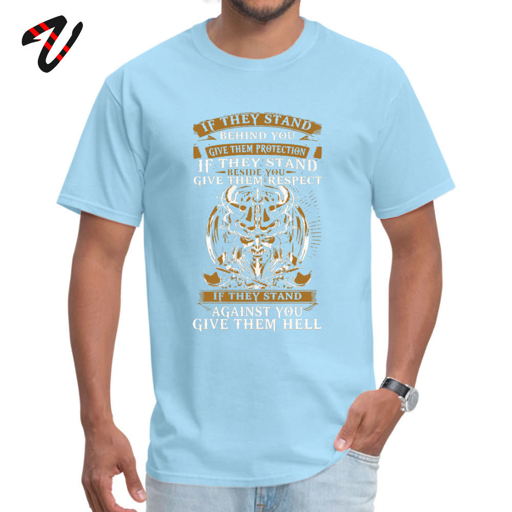 Unique Tops & Tees Oversized Short Sleeve Mens Tshirts TpicOriginaltitle Europe Summer/Autumn Tops Tees O Neck stand behind you -1362 light