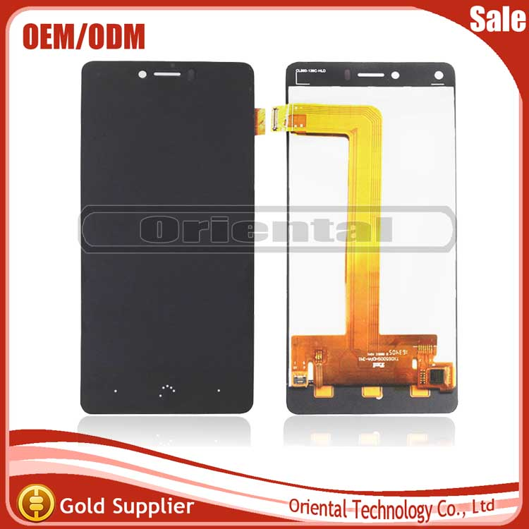 ФОТО Best Quality For BQ Aquaris U Plus LCD Display with Touch Screen Digitizer Assembly Free Shipping