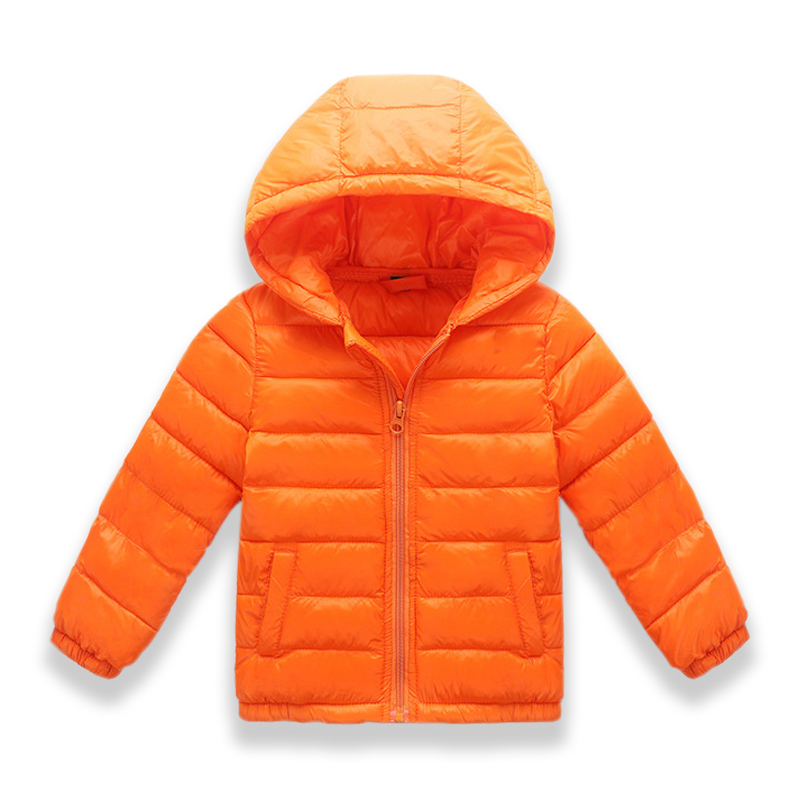 74c03d4fe 8 colors Winter Jacket Kids for Girl Warm hooded Down jackets for boys  Jacket Teens Coat Children Winter Clothing Boys Coat