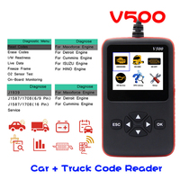 V500 CR HD Device Heavy Duty Truck and Car Code Reader Scanner