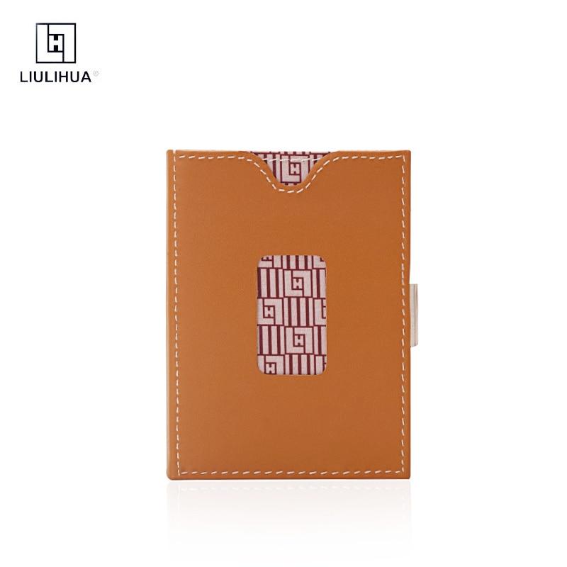 LLH Western hommes portefeuille à trois volets en cuir sacs à main créatifs hommes d'affaires portefeuille porte-cartes portefeuille de crédit de voyage pour hommes étui à main