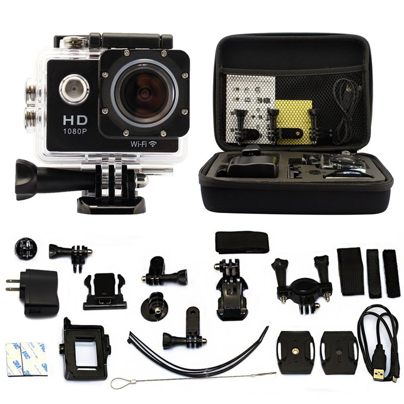 W8 ultra hd 2 wifi sports action camera manual