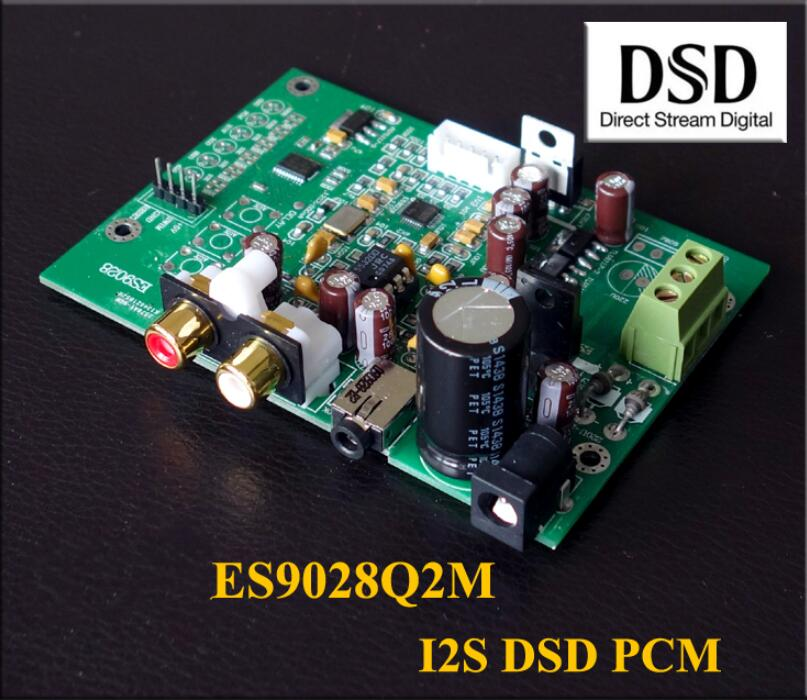 Audio & Video Replacement Parts Es9028q2m Dac Board For Hifi Amplifier Decoder Xlr Out I2s Input Supports I2s 32bit 192k Dsd64 128 256