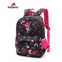 RUIPAI Kids School Bags Children Backpacks Girls and Boys Backpack Schoolbag Mochila Bookbag Big and Small Size Kids Baby Bags