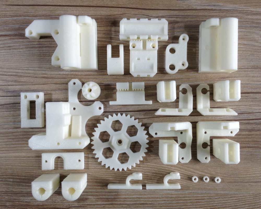 Reprap Prusa3 vanilla 3D Printer Printed Parts Prusa i3 Plus ABS Plastic Parts KIT Free Shipping