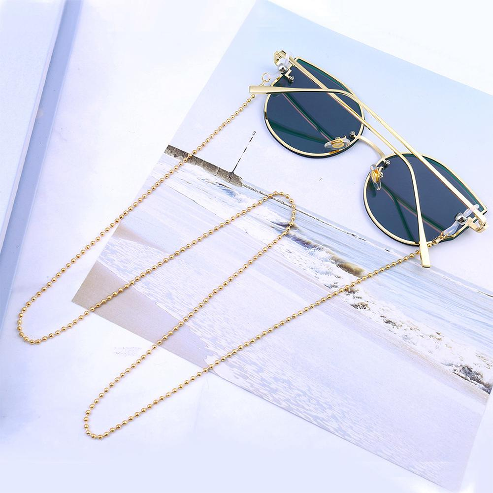 DSstyles 2019 New Fashion Eye Glasses Sunglasses Spectacles Vintage Chain Holder Cord Lanyard Necklace(not Include The Glasses)