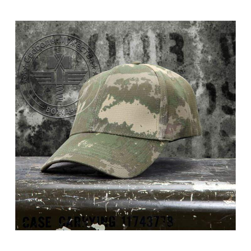 Tactical Combat Airsoft Camouflage Quick Dry Baseball Golf Tenni Cap Outdoor Sports Hunting Fishing Cycling Hiking Hat Wholesale